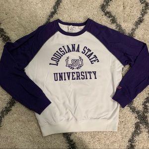LSU Louisiana State University Pullover Medium